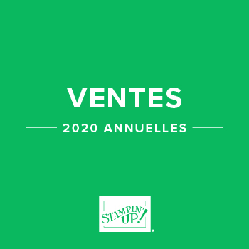 Ventes annuelles 2020